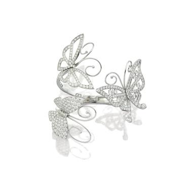Bracelet 'Flying Butterfly', Van Cleef & Arpels (Est. 470,000 — 620,000 HKD)